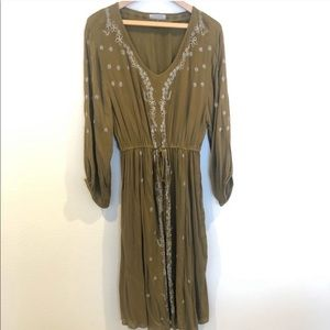 World market embroidered dress free people style